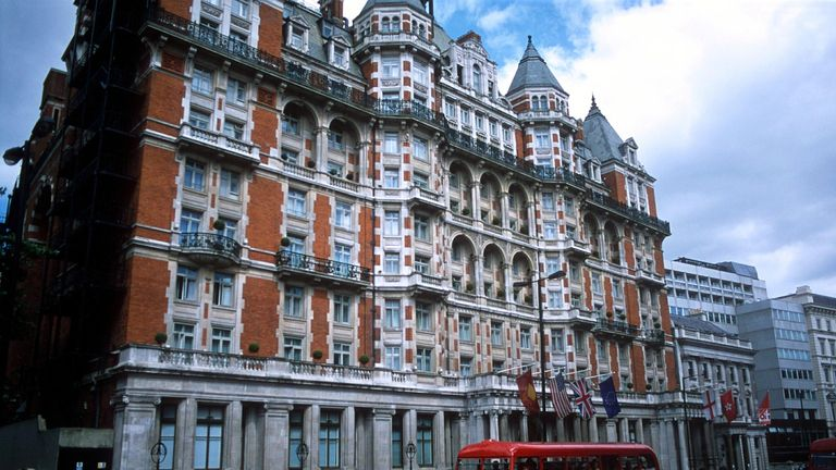 Mandarin Oriental Hyde Park Hotel, Knightsbridge, London