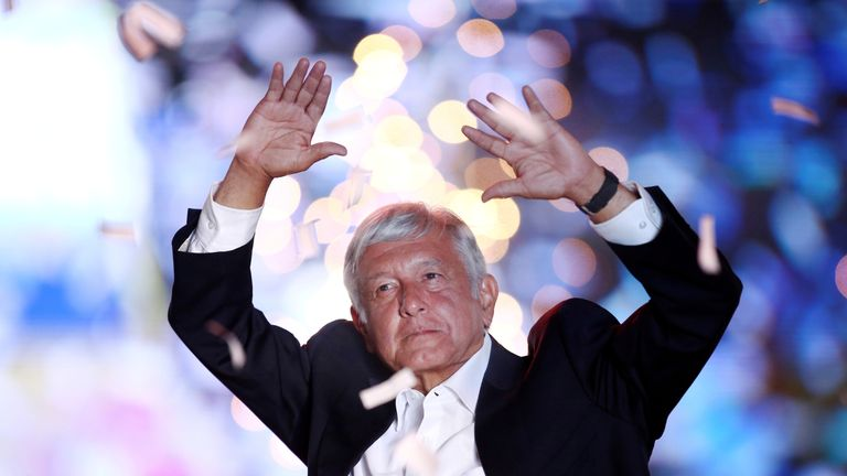 Andres Manuel Lopez Obrador is expected to be Mexico's next president