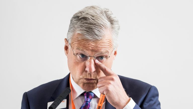 Chief executive of Network Rail Mark Carne has been honoured in the Queen's Birthday Honours List