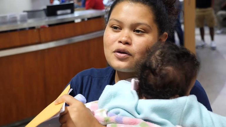 Ani Gabriella was allowed to keep her baby with her