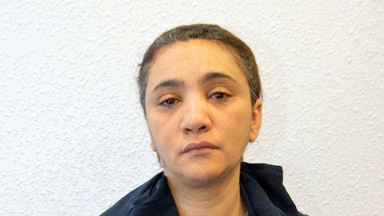 Mina Dich, who with her daughter Rizlaine Boular, was jailed