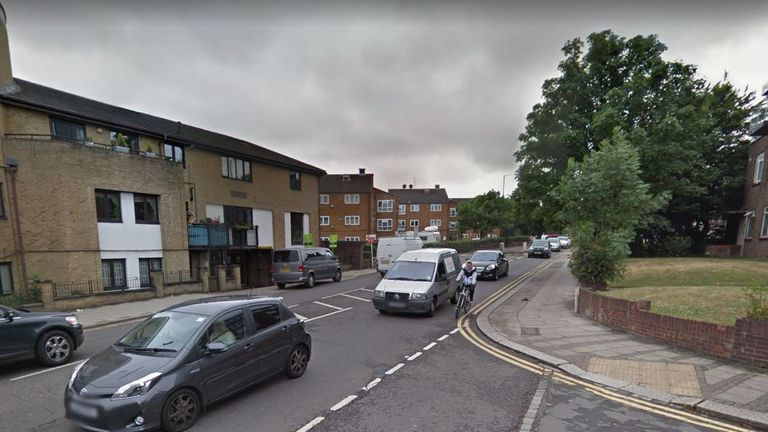 A man has been arrested on suspicion of murder after a stabbing in Neasden Lane, Willesden Green