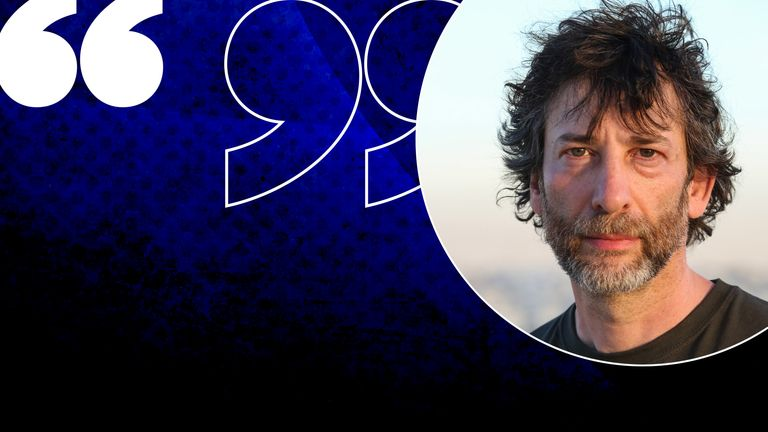 Neil Gaiman is a UNHCR ambasador