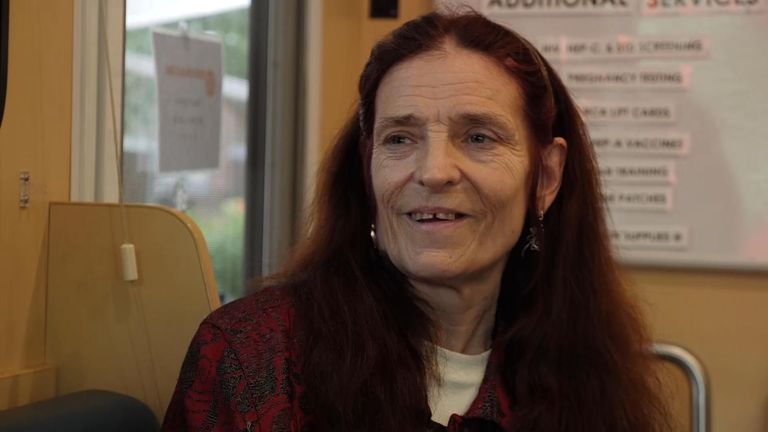 Homeless patient Deborah Lumbert believes poor people are less cared for
