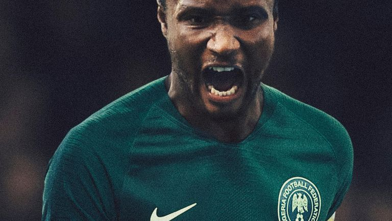 9c018d388 Nigeria World Cup kit sells out with three million pre-orders ...