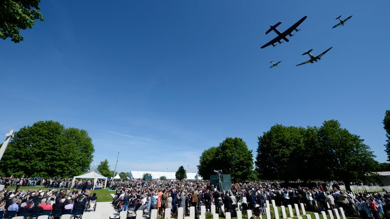 The 70th anniversary of D-Day was commemorated with several events in Normandy