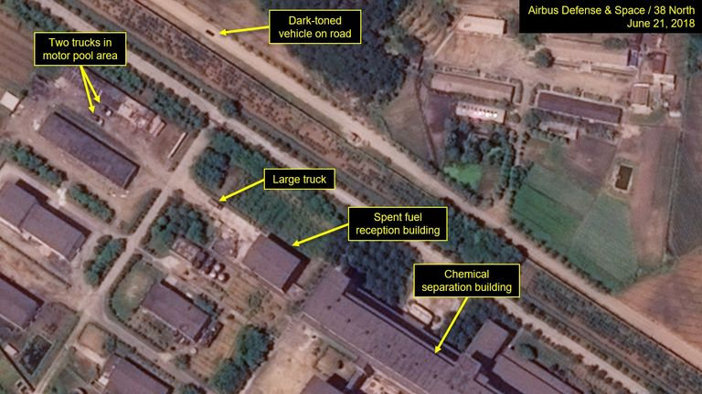 North Korea 'rapidly' improving nuclear research facility, satellite