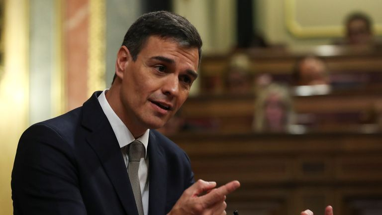 Pedro Sanchez will be Spain's new prime minister