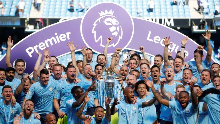 Manchester City won the Premier League this season