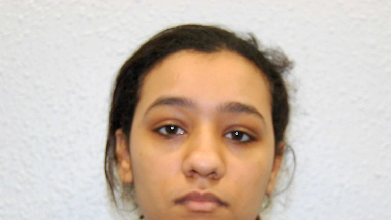 Rizlaine Boular who is one of the three women part of Britain's first all-female Islamic State terror cell