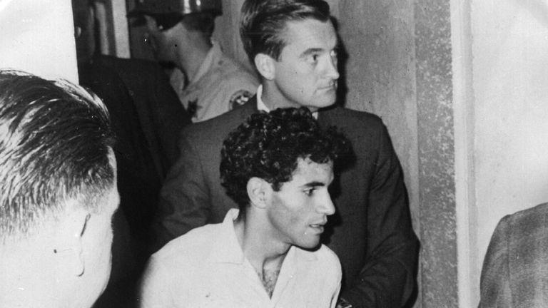 Sirhan Sirhan was convicted of murdering Bobby Kennedy