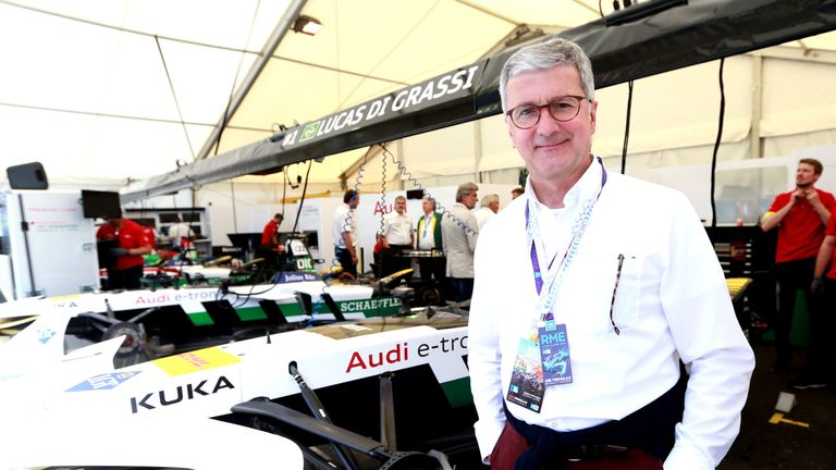Rupert Stadler is a German national who has held senior positions within VW since 1997