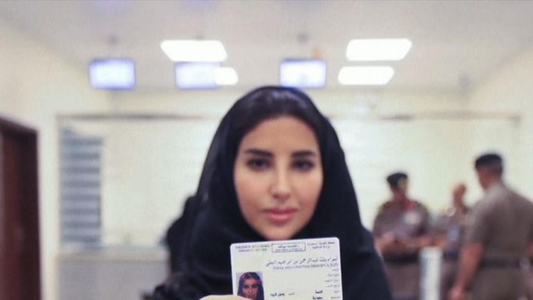 First driving licences for Saudi women