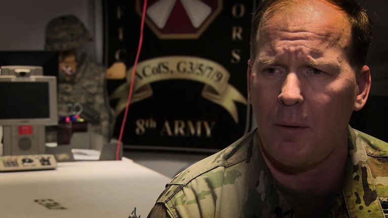 Colonel Scott Taylor of the US 8th Army