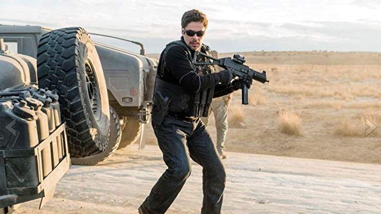 Benicio Del Toro reprised his role as conflicted hitman Alejandro
