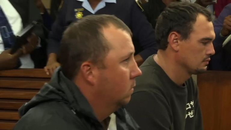 Willem Oosthuizen and Theo Jackson have been convicted of the attempted murder of a black farm worker