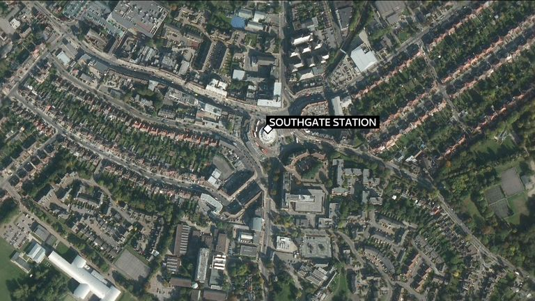 Officers remain at Southgate tube station. Enquires are ongoing to establish the cause of a reported minor explosion at 19:03pm