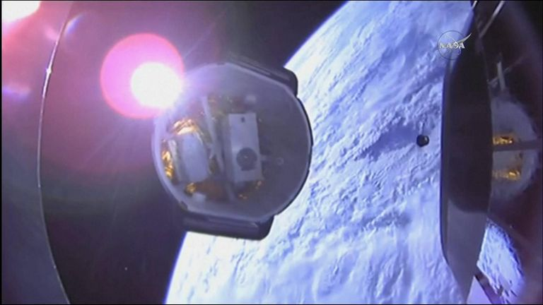 SpaceX Dragon cargo spacecraft