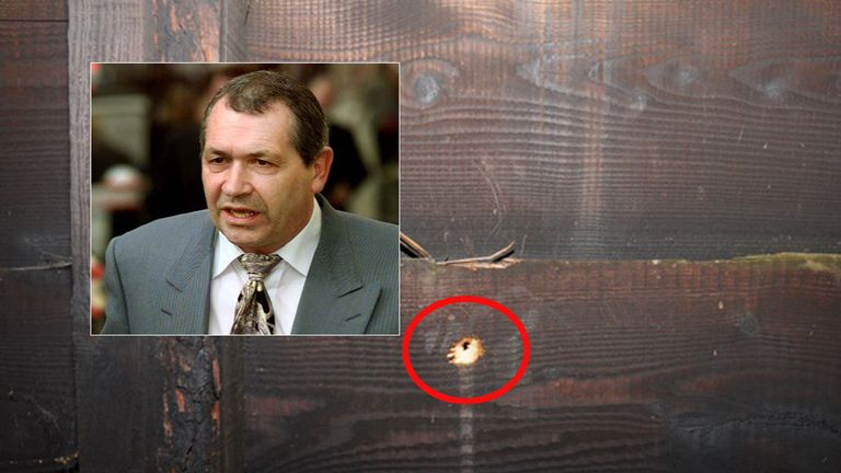 Spyhole believed to be used by killer of John Palmer