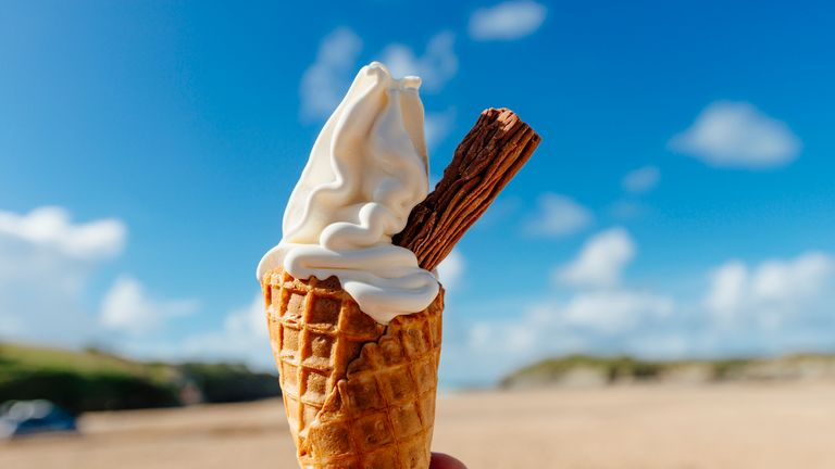 Pic for hot weather - ice cream
