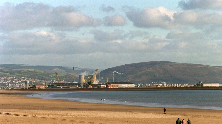 The tidal lagoon in Swansea Bay would be a world first