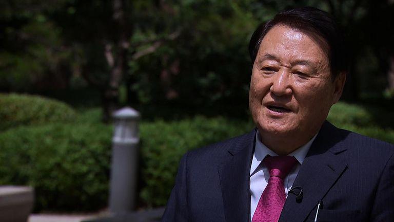 Professor Taewoo Kim from Konyang University