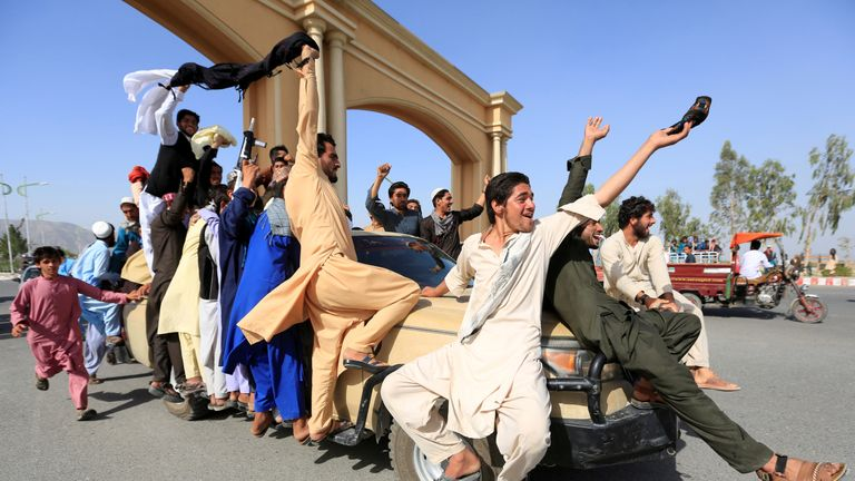 Aghanistan celebrated a three-day Eid ceasefire between the Taliban and Afghan forces