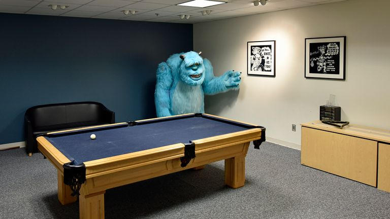 The life-sized Sulley model from the Monsters Inc film. Pic: Toys R US