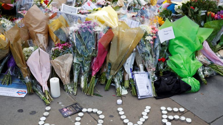 Tributes to victims of Borough Market attack in London