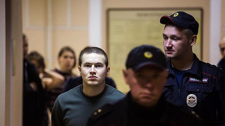 Computer programmer Viktor Filinkov has accused of Russia's domestic intelligence agency, the FSB, of torture