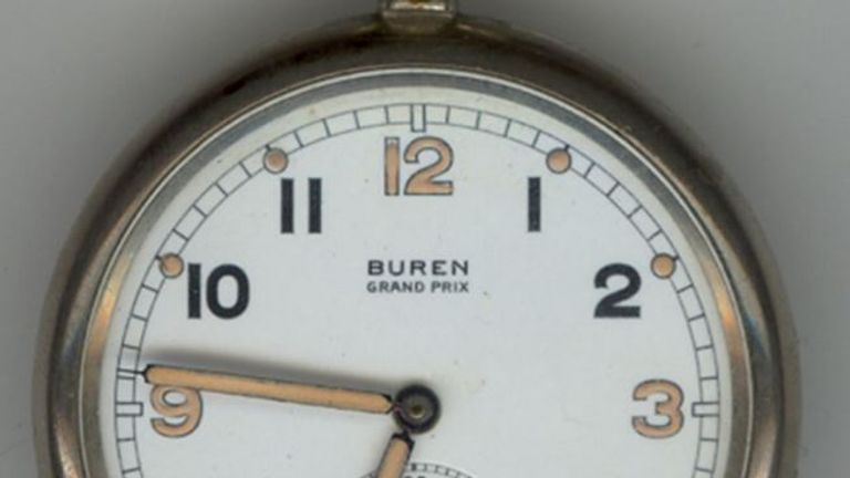 The watches were worn by soldiers during World war two