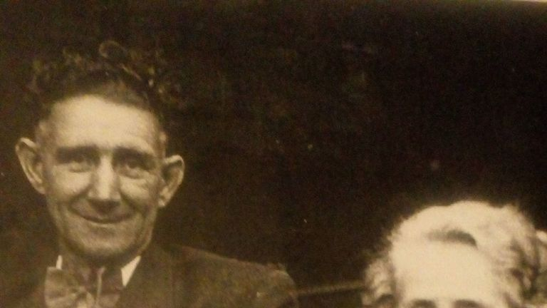 Aneira's parents, Willie and Edna May, around the time she was born