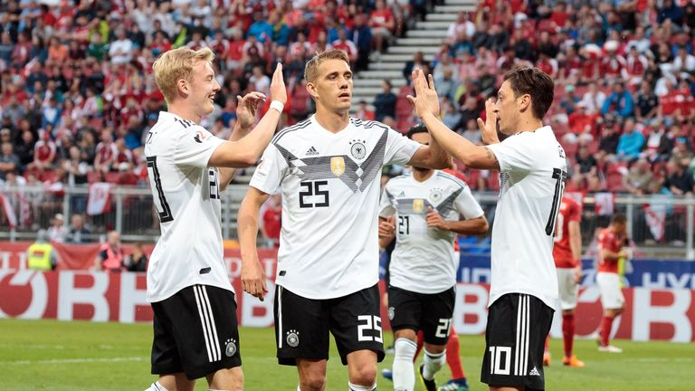 Germany are the World Cup holders
