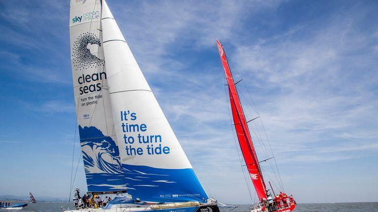 Cardiff stopover. Practice Race. 06 June, 2018. (Jesus Renedo/Volvo Ocean Race)
