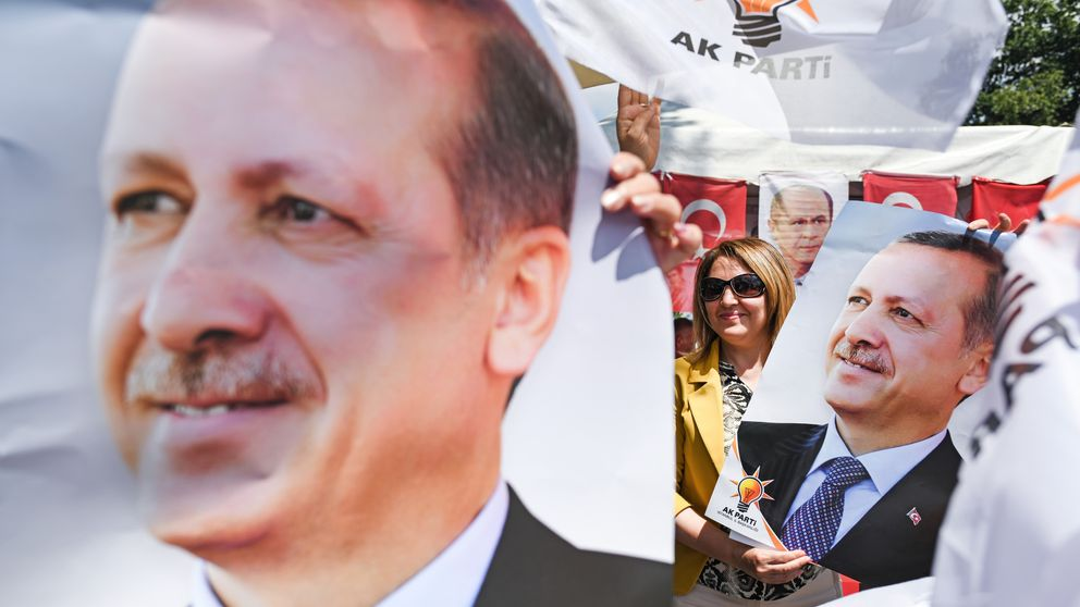 Erdoğan declares victory in Turkish presidential vote