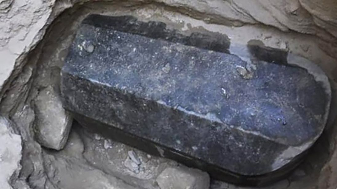 The sarcophagus Pic: Egyptian ministry of antiquities