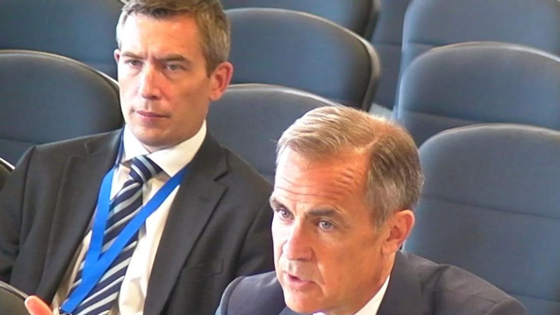 Carney speaks about Brexit White Paper