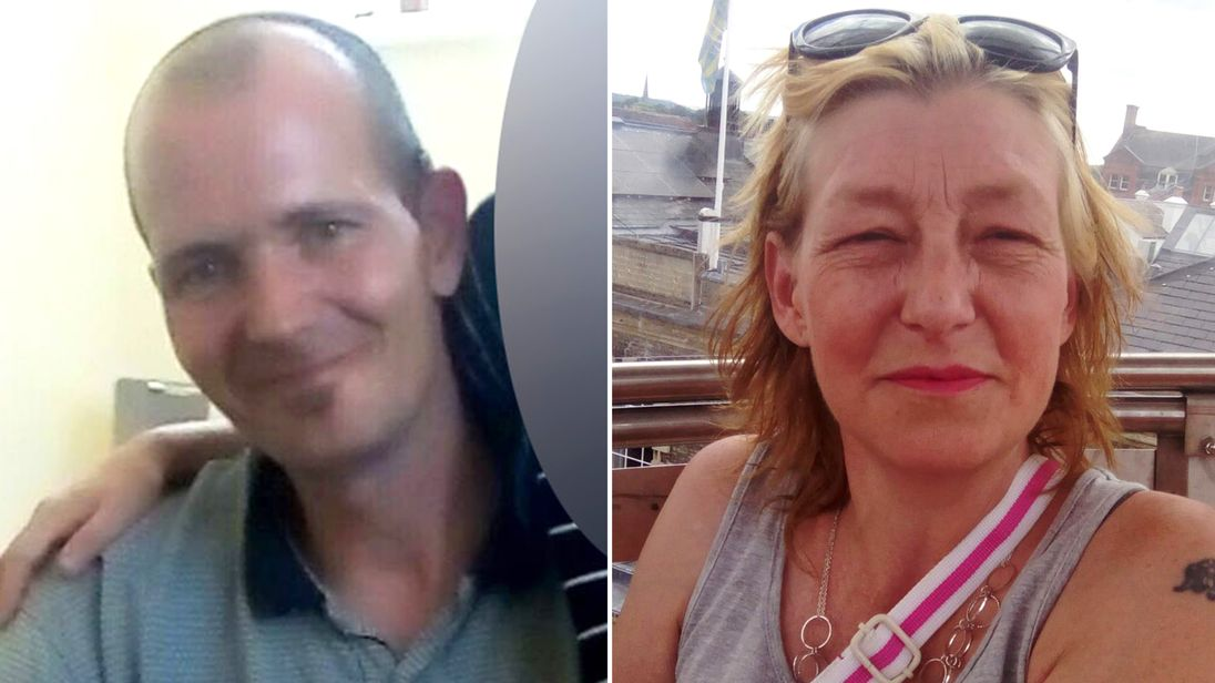Charlie Rowley and Dawn Sturgess