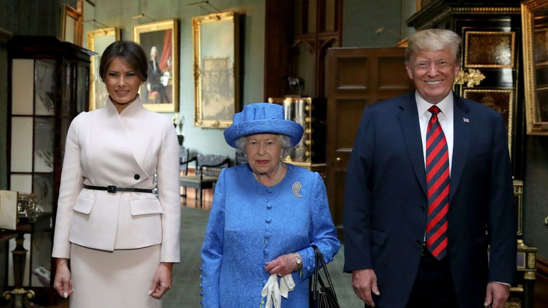 Trump's United Kingdom visit used 10,000 officers, cost $24M