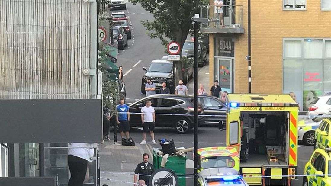 A teenager was stabbed in Islington on 1 July. Pic: Amina Taylor