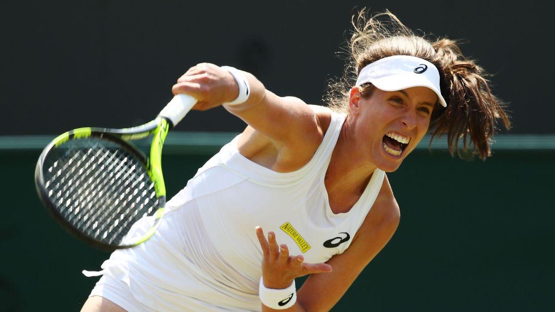 British tennis ace Johanna Konta never uses plastic at home