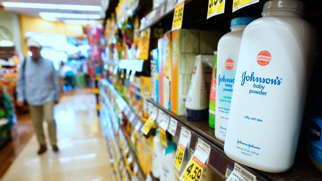 Johnson & Johnson ordered to pay $4.69 bn damages in talc cancer case