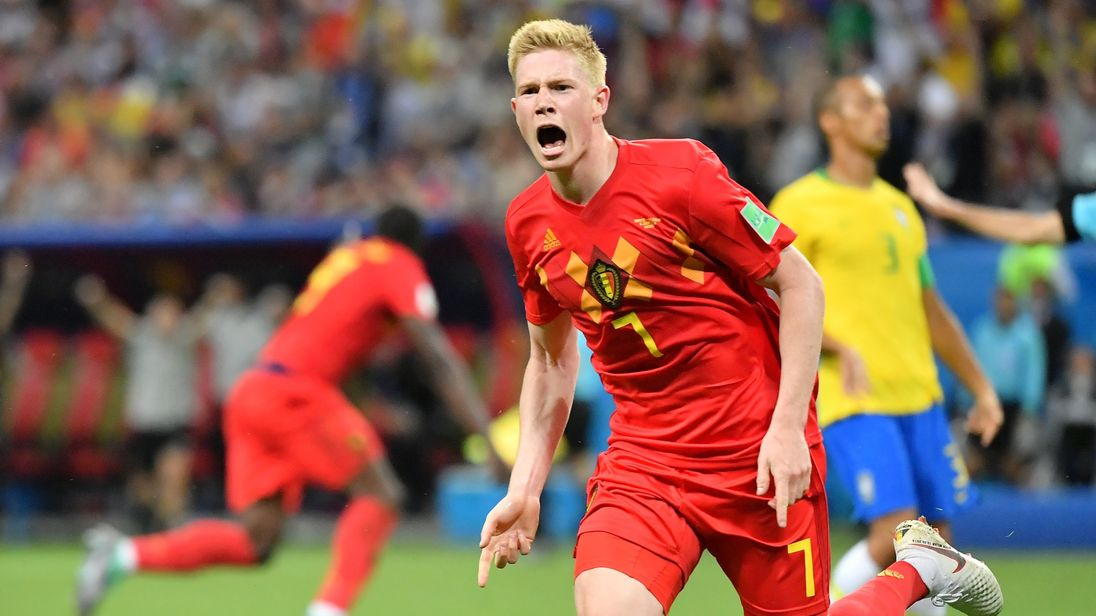 Manchester City star Kevin De Bruyne scored what turned out to be the winner