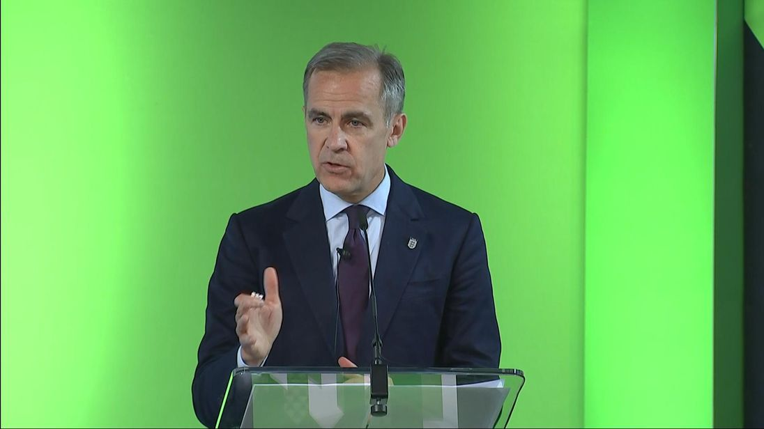 BoE Governor Confident in UK Economic Growth