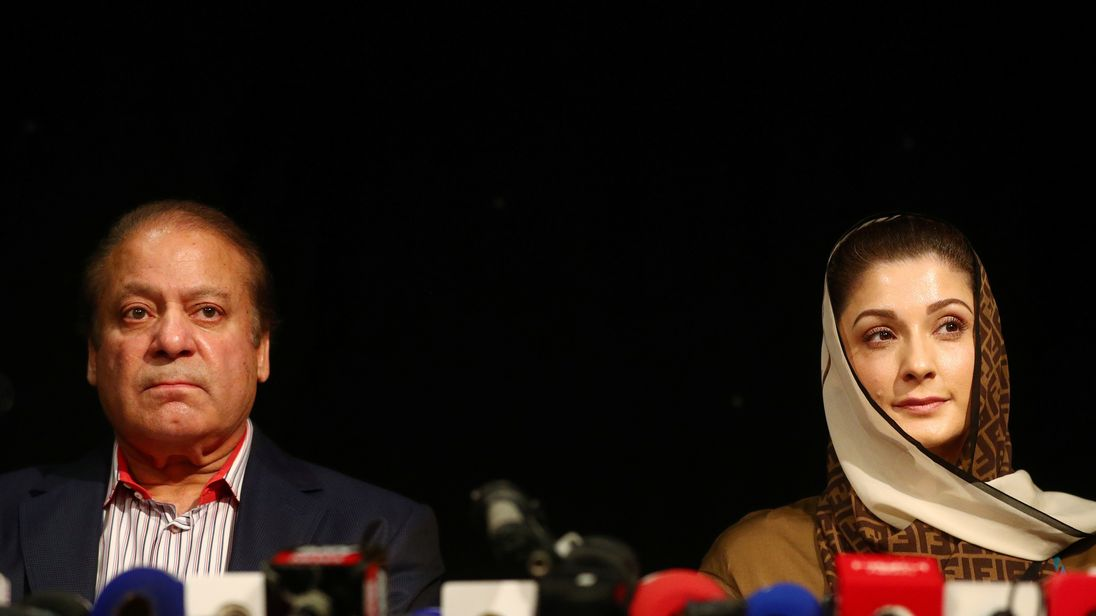 Pakistan opens terrorism investigation against ex-PM's party days before election