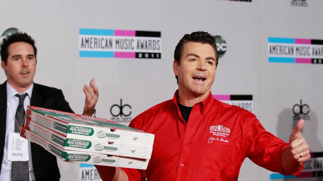Papa John's founder resigns after apologising over racial slur