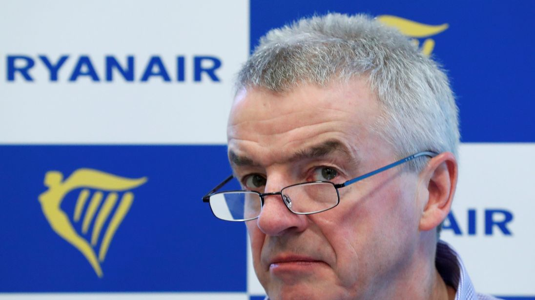 Strike action hits Ryanair