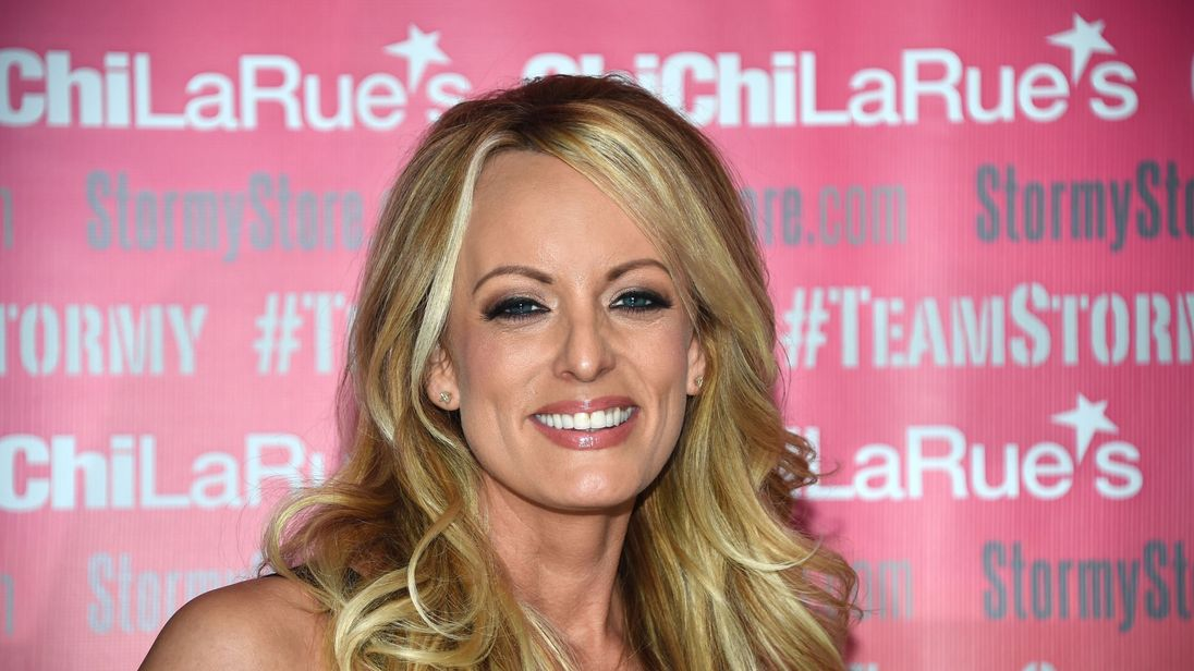 Stormy Daniels arrested at strip club, charged with sex offenses
