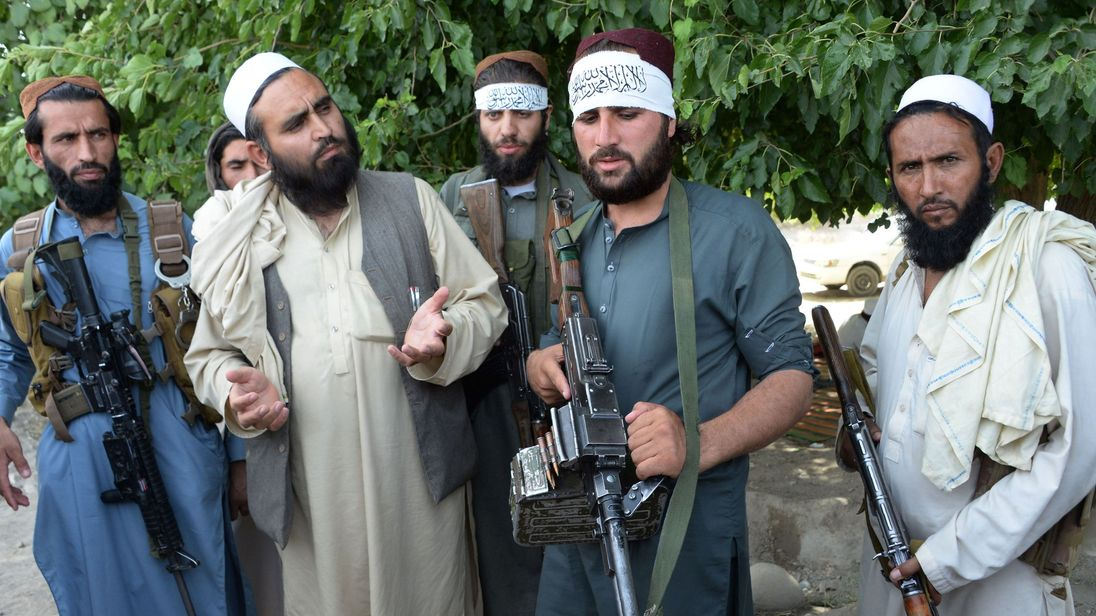 Taliban militants hold their first direct talks with the United States in Qatar