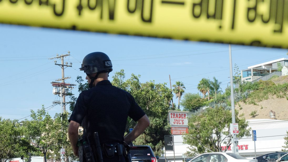 Shooting, possible hostage situation at LA Trader Joe's